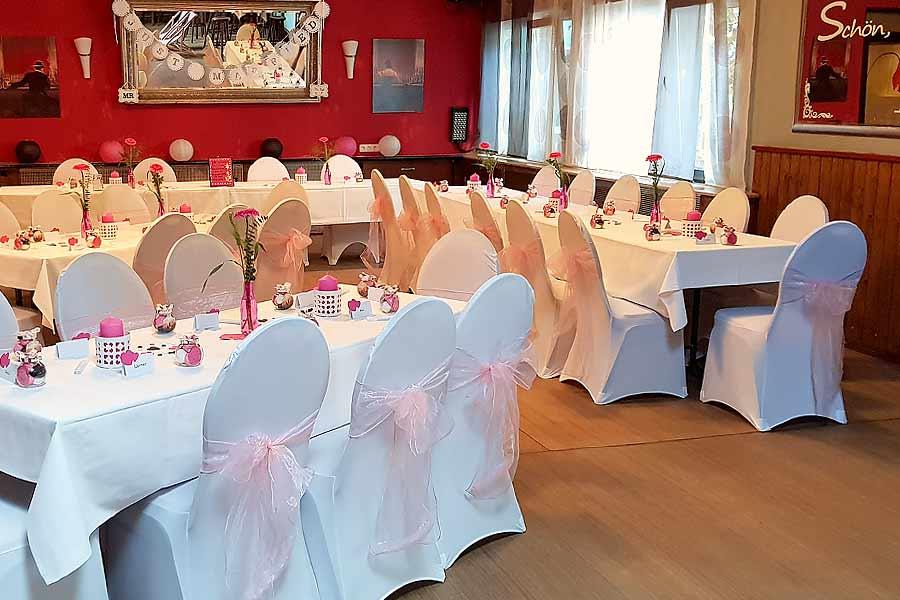 Saal für Hochzeiten mieten im Cottage Bottrop